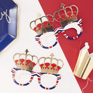Royalty Fun Glasses - Party Like Royalty - Ginger Ray