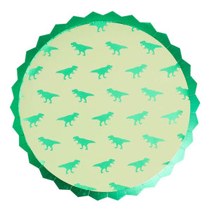 Dinosaur Paper Party Plates - Roarsome Range by Ginger Ray