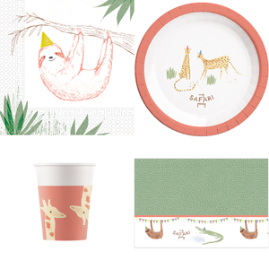 Safari Party Pack For 8 Guests