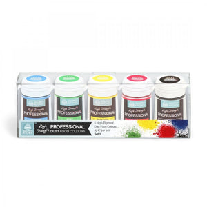 SQUIRES KITCHEN Professional Food Colour Dust Set 1