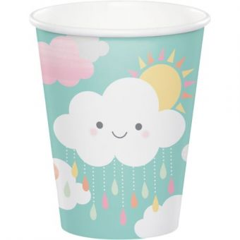 Sunshine Baby Showers Paper Cups - 8 Pack