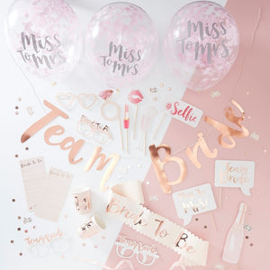 Hen Party In A Box - Team Bride Range by Ginger Ray