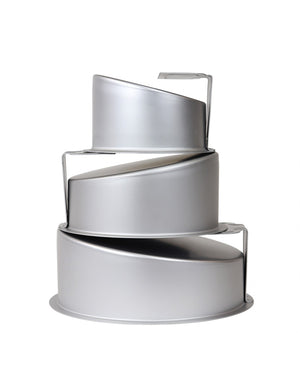 Topsy Turvy Round Cake Pan - PME - 8 INCHES