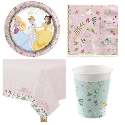 Disney True Princess Party Pack - Value Pack for 8 Guests