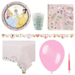 Disney True Princess Party Pack - Deluxe Pack for 8 Guests