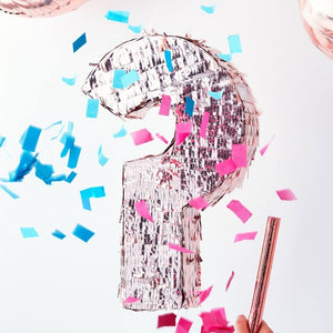 Gender Reveal Rose Gold Pinata - Twinkle Twinkle Range by Ginger Ray