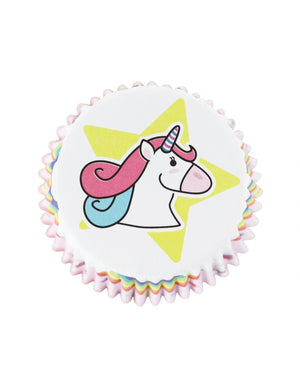Unicorn Cupcake Cases Selection Pack - 60PK