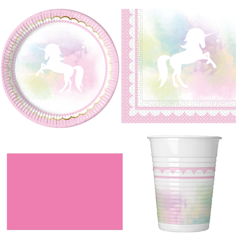 Believe in Unicorns Party Pack For 8 Guests