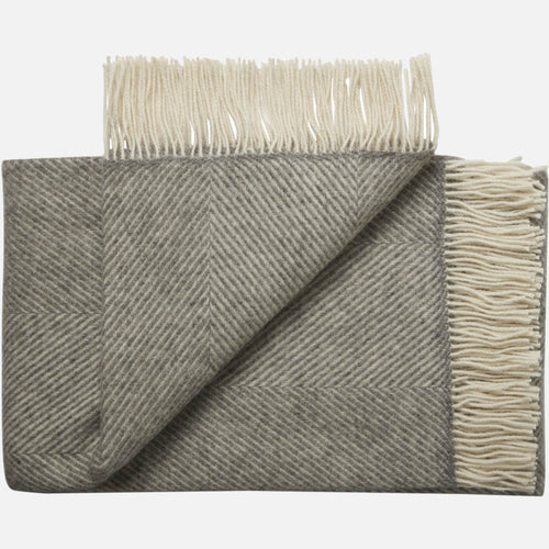 Bornholm throw — Nordic Grey