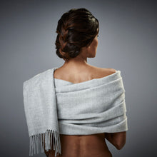 Arequipa -  Baby Alpaca Scarf - Light Grey