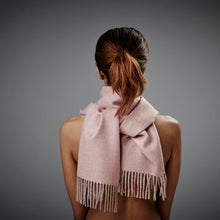 Cusco -  Baby Alpaca Scarf - Dusty Rose