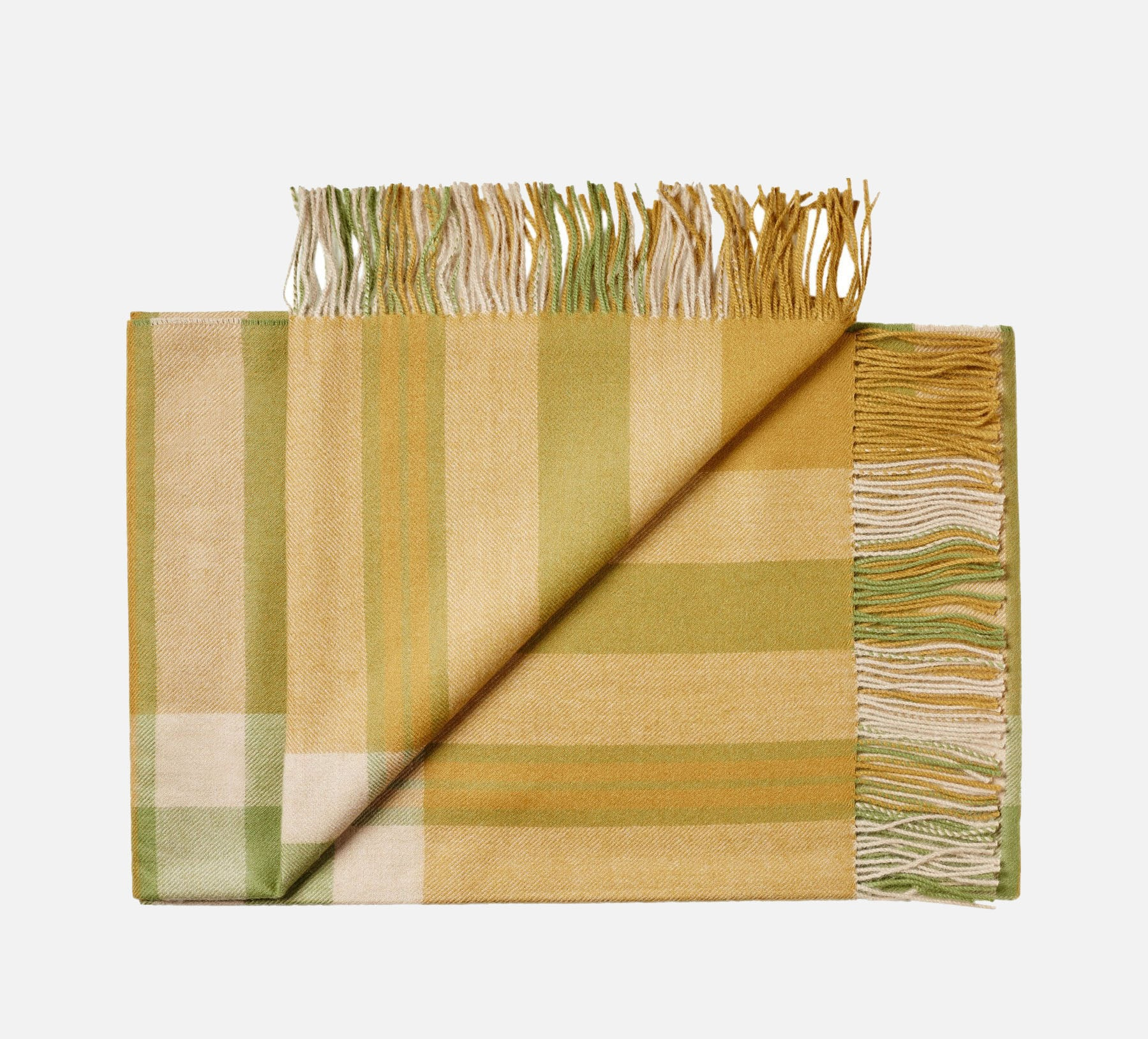 Bogota Throw - Olive Green