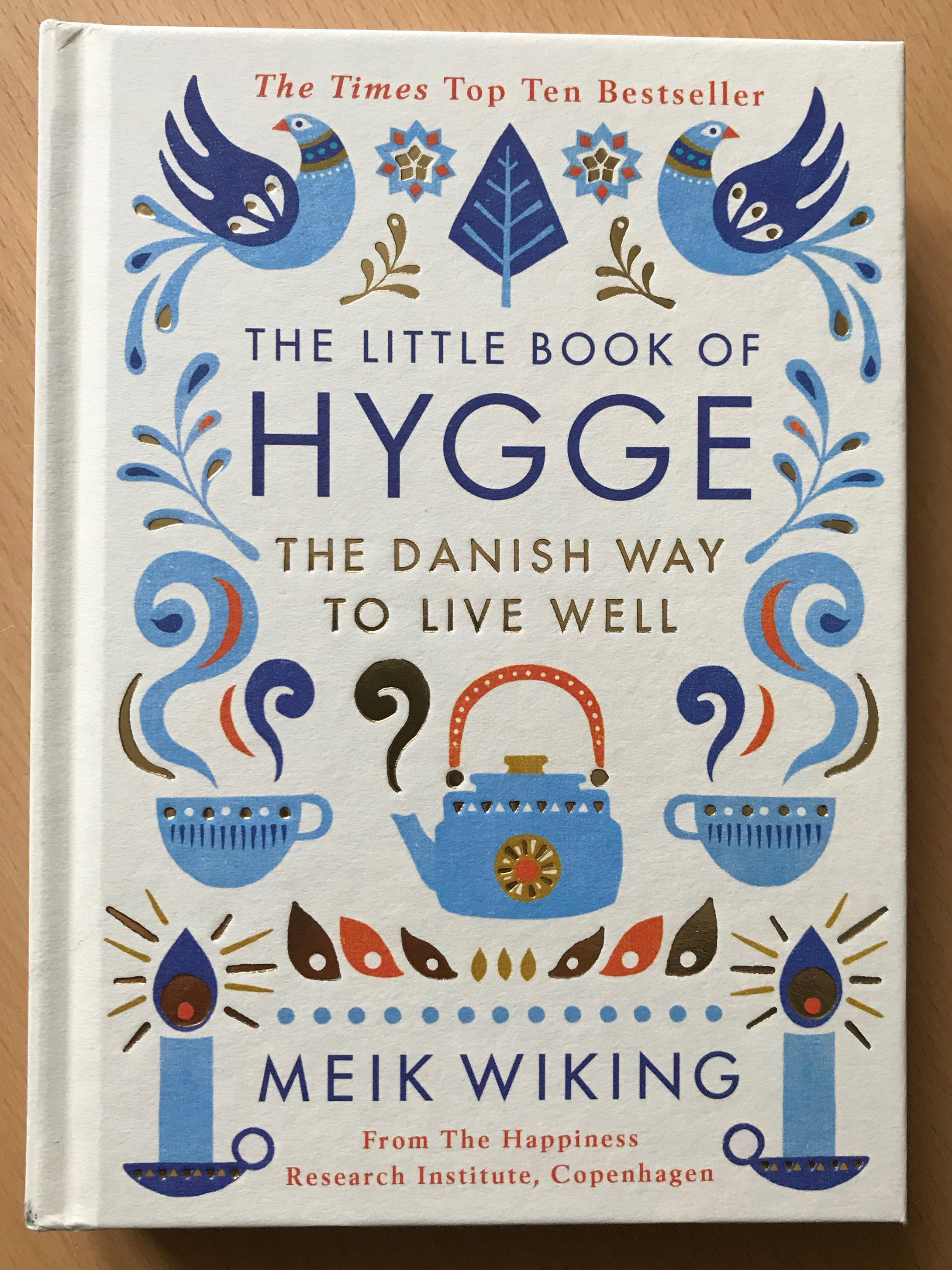 The Little Book of Hygge - FREE if you spend $ 300 or more.