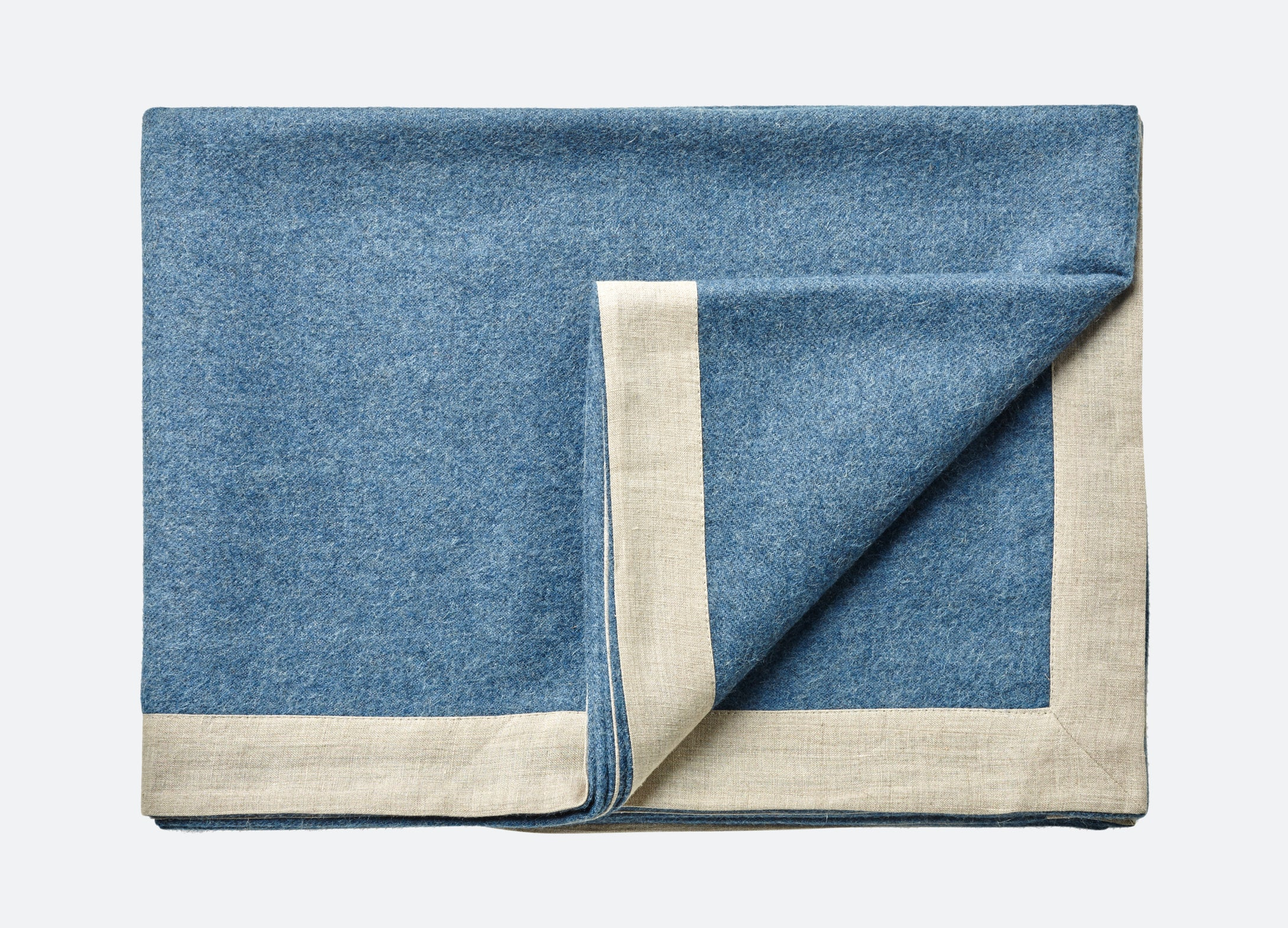 Mendoza throw - Denim Blue