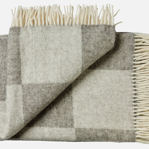 Ærø throw — Grey Checks