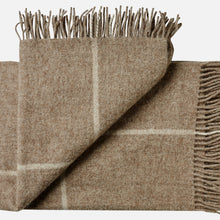Mandø throw - Brown with checks - OUTLET - SAVE $ 20