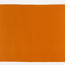 Athen throw - Pumpkin orange