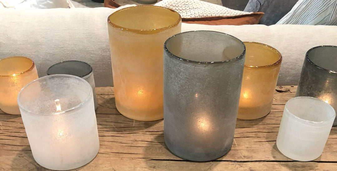 Candle Holders and Hurricane Vases