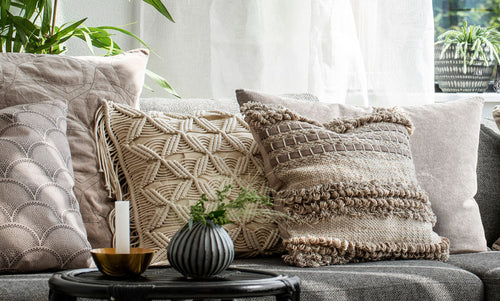 Cushions - Handpicked to revitalise your sofa at a fraction of the cost.