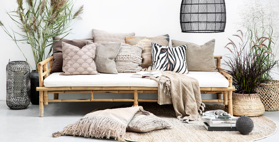 Scandi Lifestyle sofa and cushions