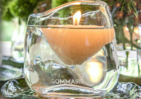 Floating candle by gommaire