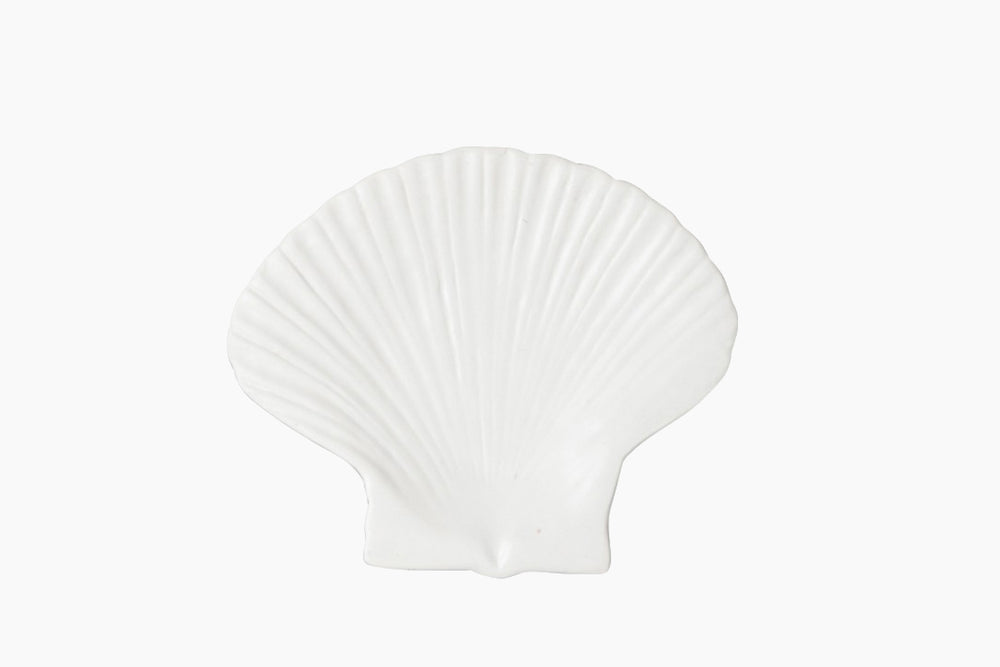 White Shell Plate by On Interior