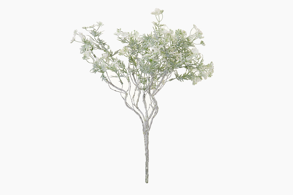 artificial white twig plant