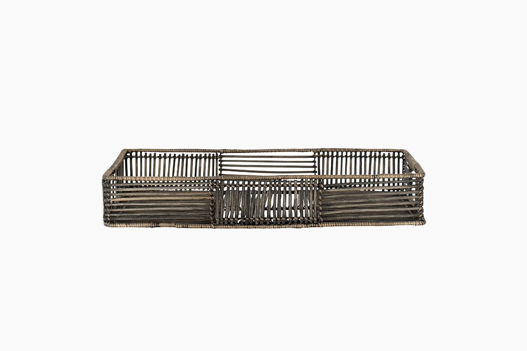 Kura Rattan Decorative Tray by Lene Bjerre