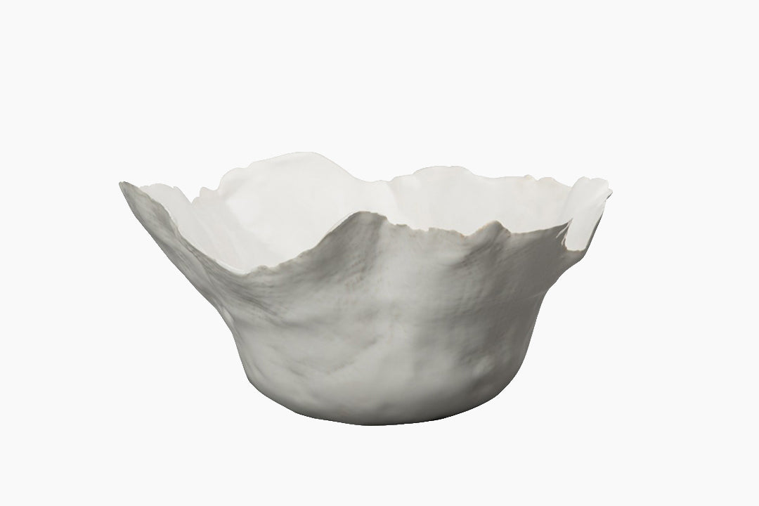 White Thalassa Bowl by On Interior