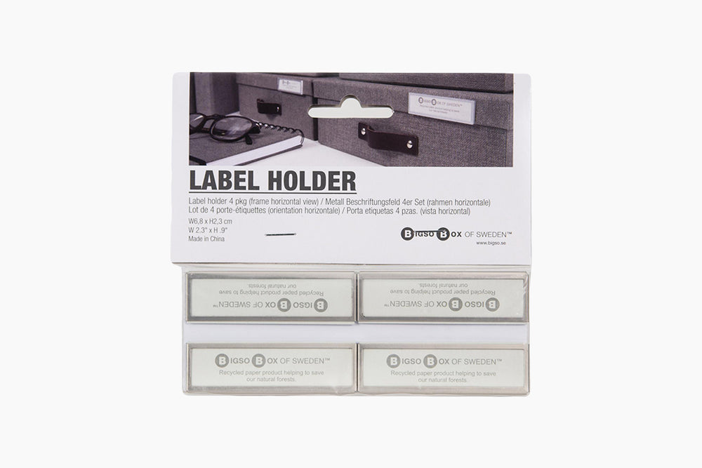 Label Holders by Bigso Sweden