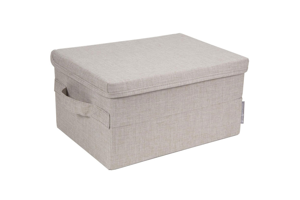 Soft Beige Storage Box Bigso