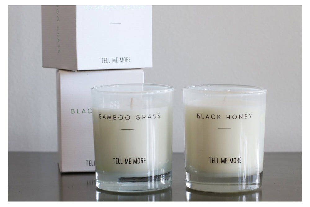 Bamboo Grass Scented Candle by Tell Me More