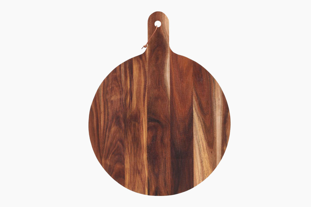 Round Acacia Chopping Board by House Doctor