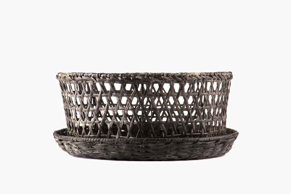 Richard Rattan Bowl in Grey Black Finish