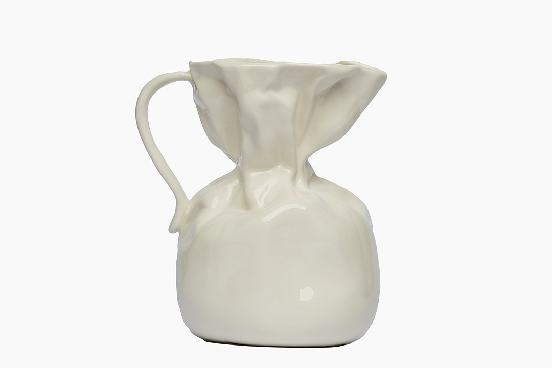 Jug Crumple Vase by On Interior