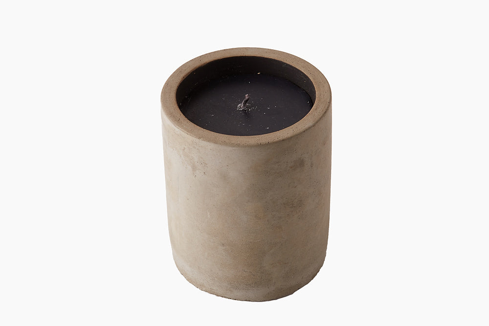 Candle in Grey Stone by On Interiors