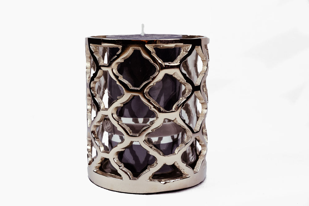 lattice candle holder