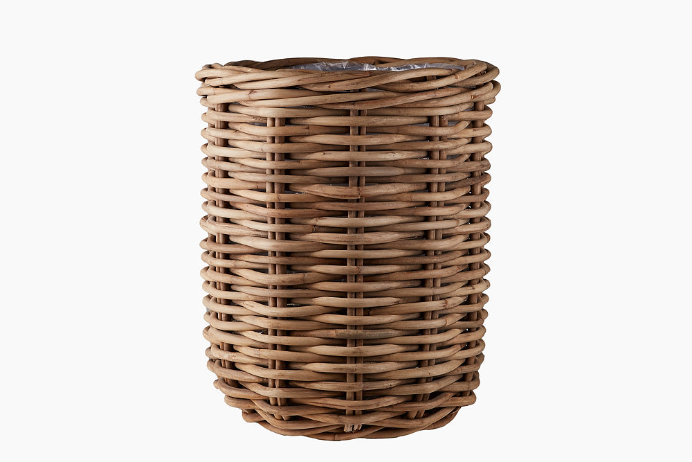 rattan palm basket