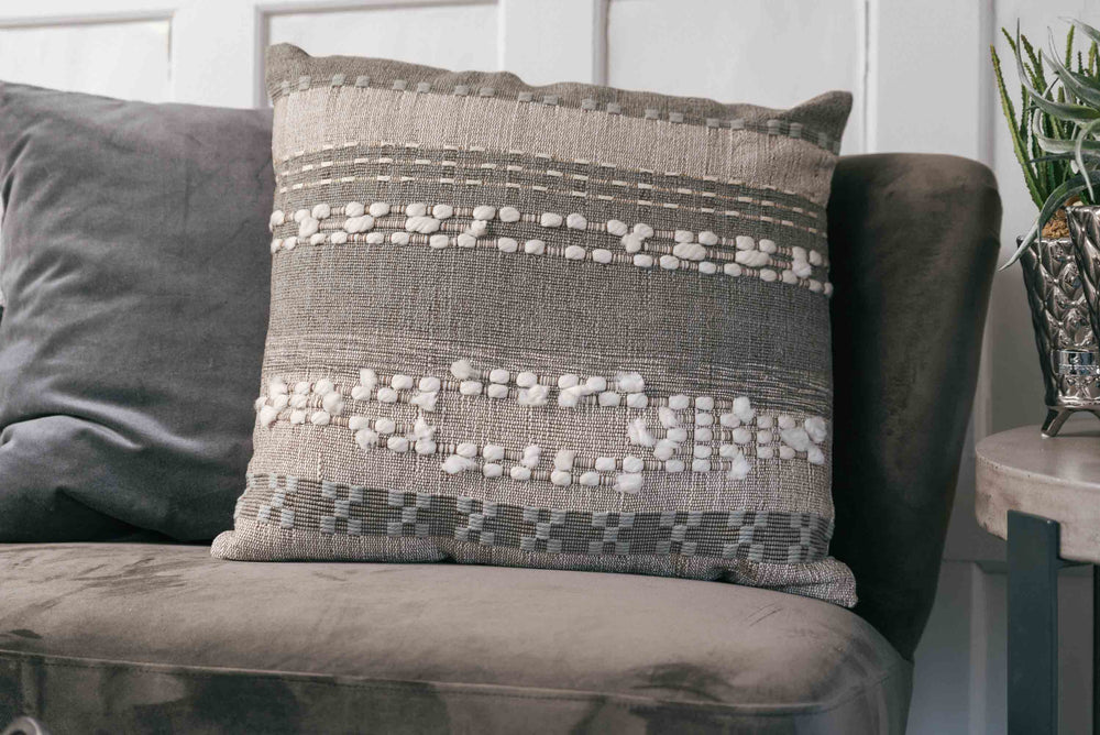 luxury khaki cushion