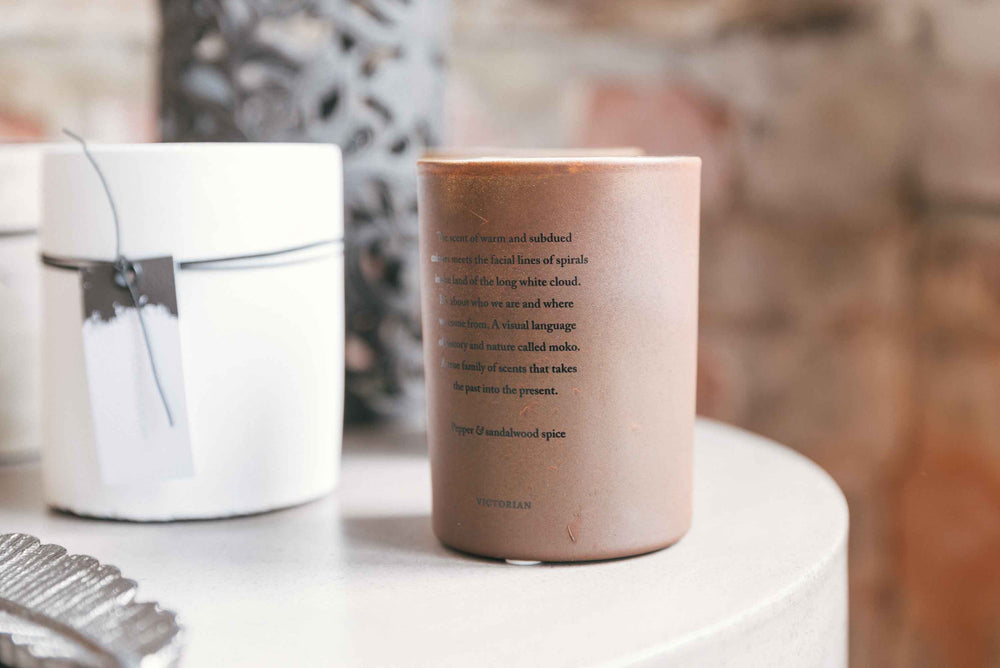 Victorian Candle - Feu Sacre by On Interiors