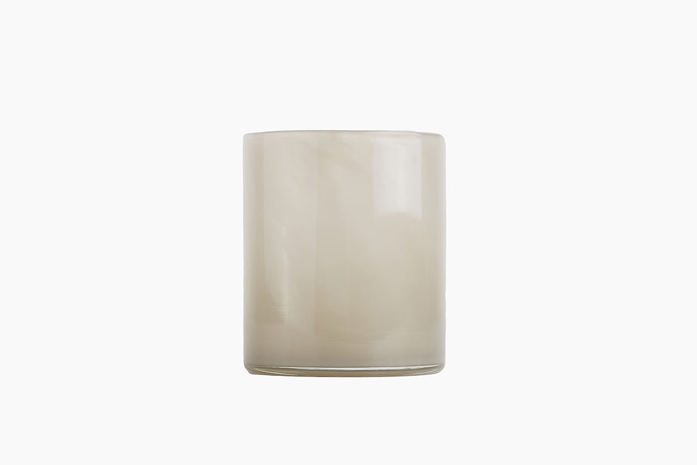 Lyric Candle Holder in Warm Grey