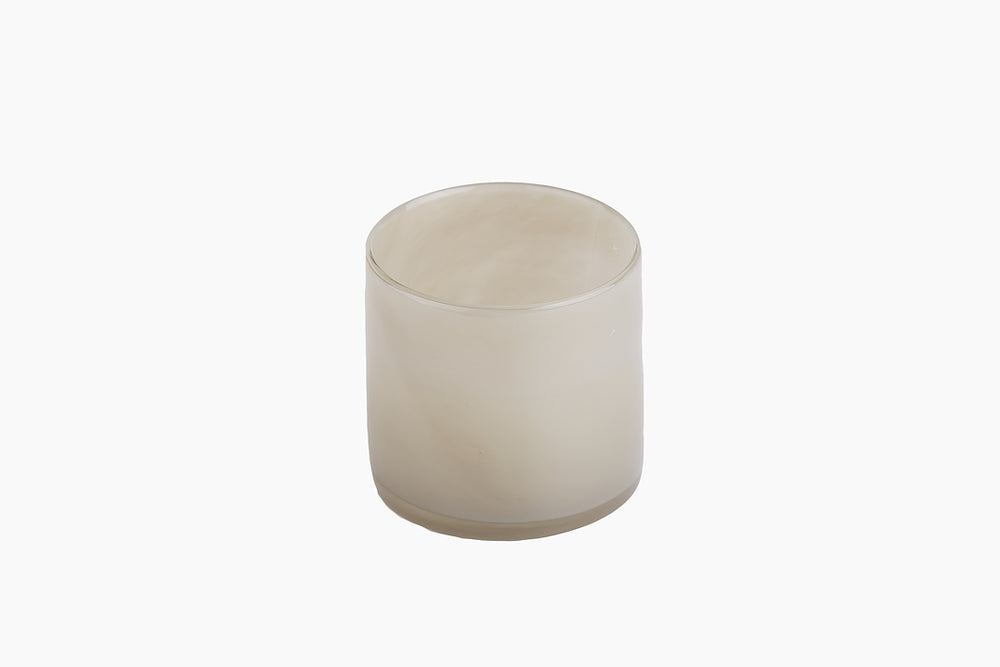 Lyric candle holder light grey