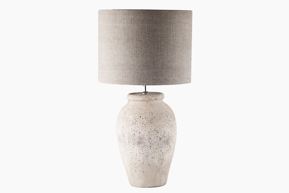 Natural Stone Table Lamp by Light and Living