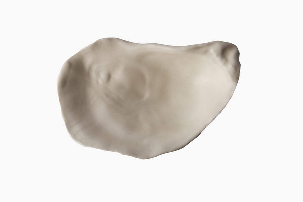 White Oyster Plate White by On Interior