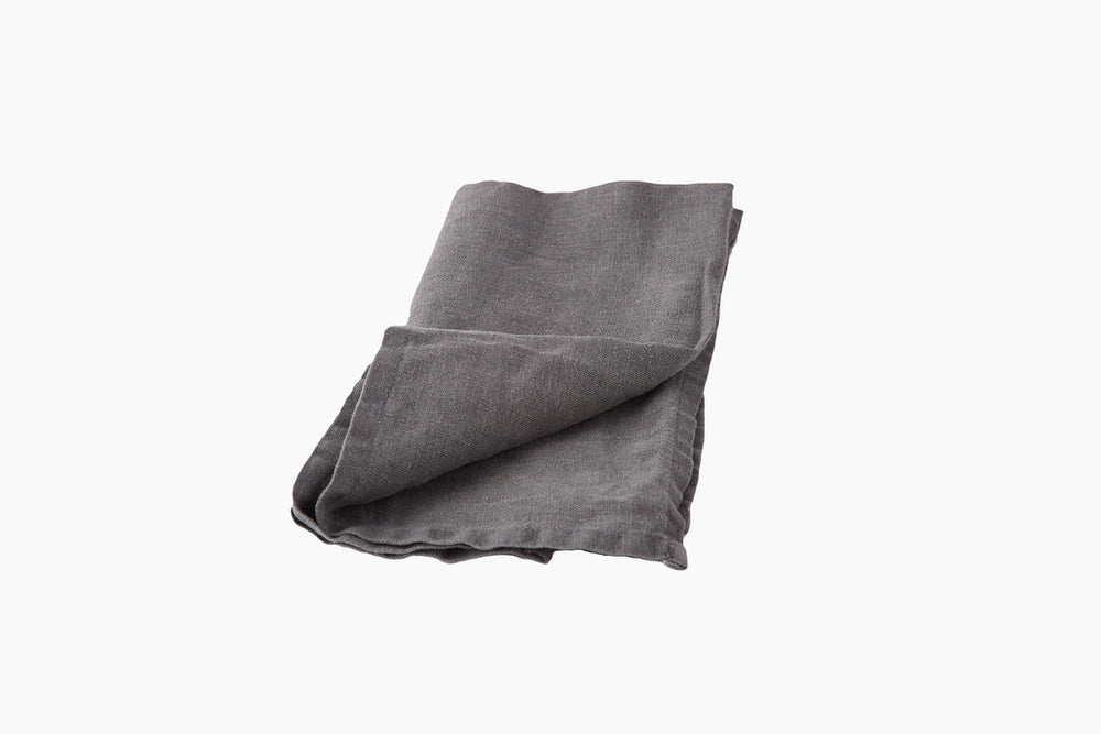 Grey Linen Napkin - Trapani by On Interiors