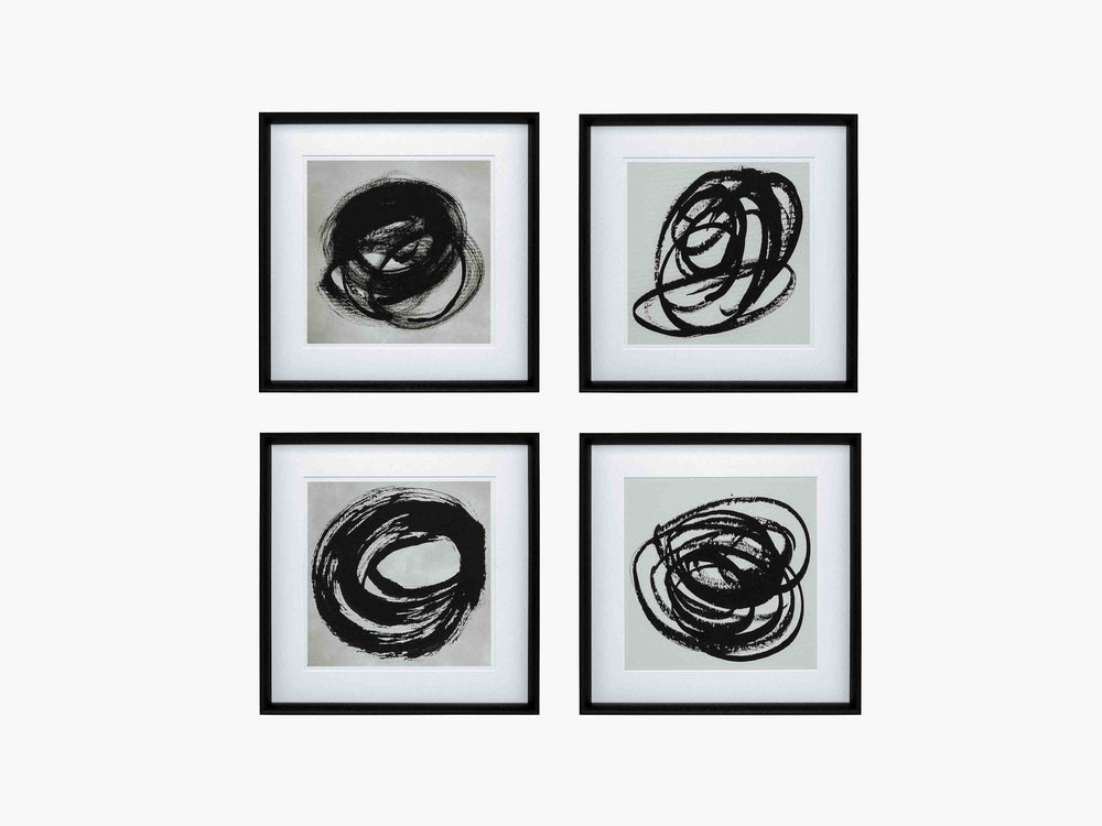Eicholtz black and white art prints