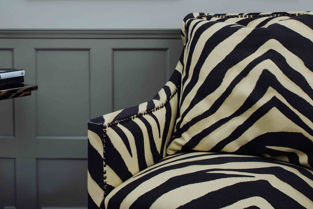 zebra print chairs uk