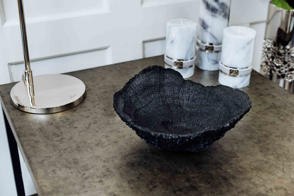 Black Coral Bowl - Vence by On Interiors