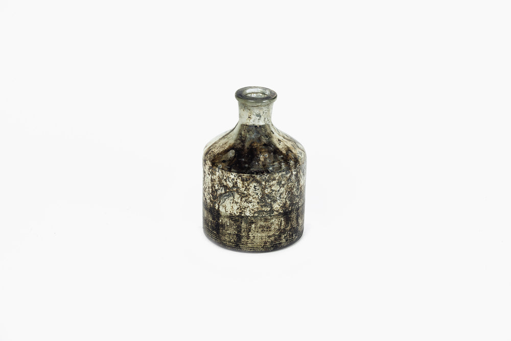 Bottle Oxidised Black Vase
