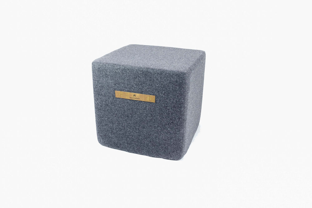 Shepherd of Sweden - Anna Wool Pouffe Square